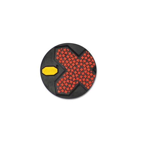 Coaster 2 Color Black with Raised Lugs
