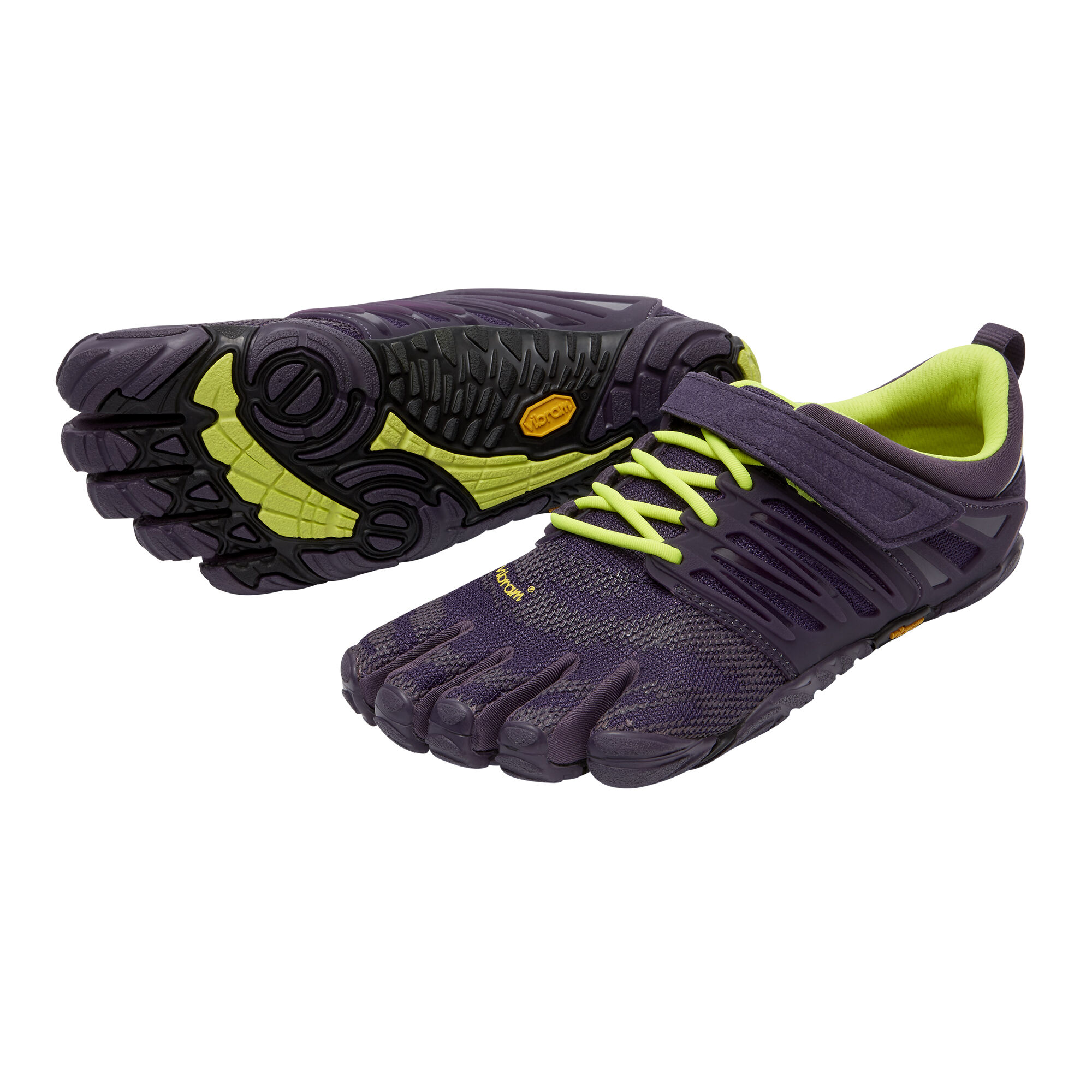 Vibram Fivefingers V-TRAIN - Sports shoes Nightshade/Safety Yellow Women