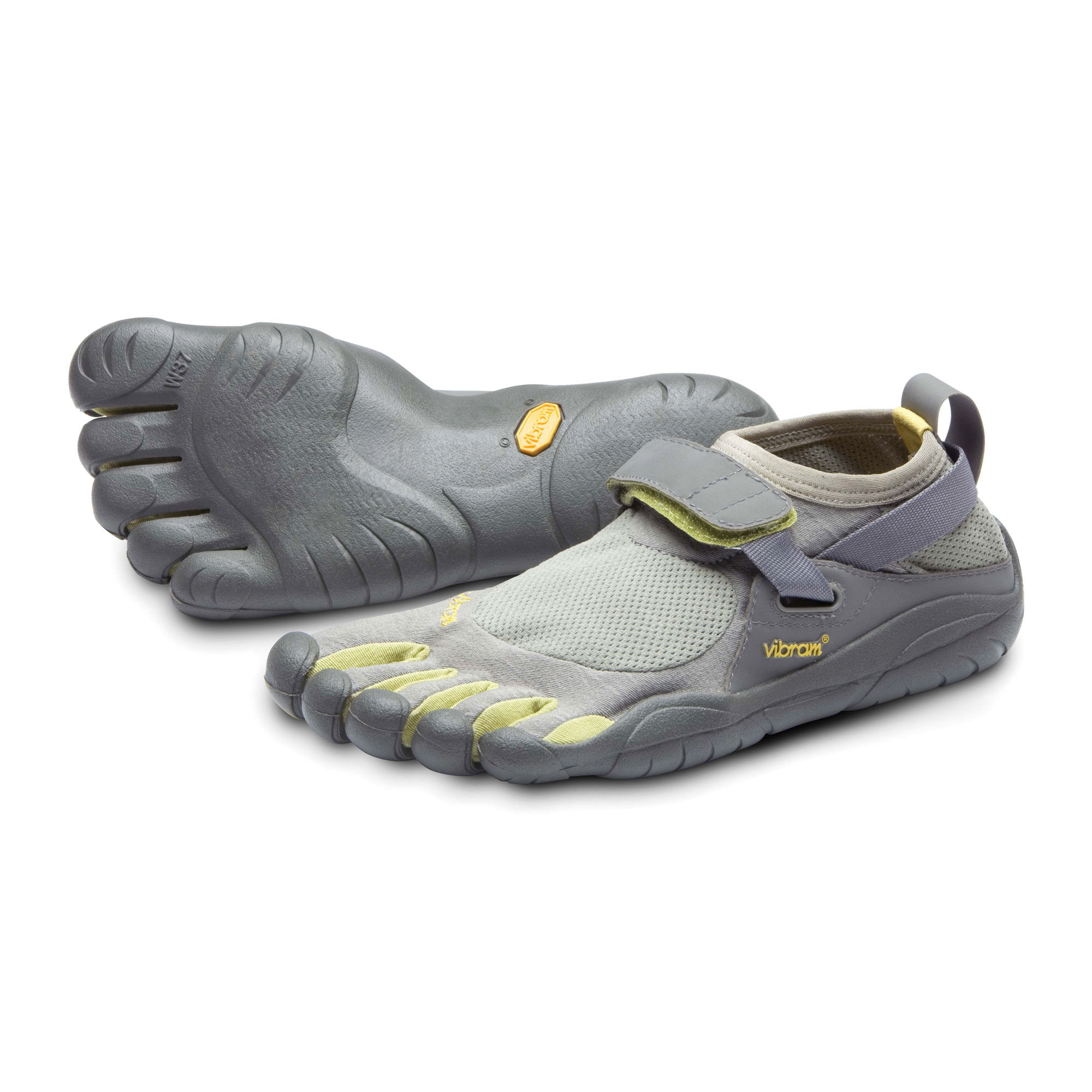 Vibram Womens FiveFingers VI-S Walking Shoes Sandals Grey Sports Outdoors