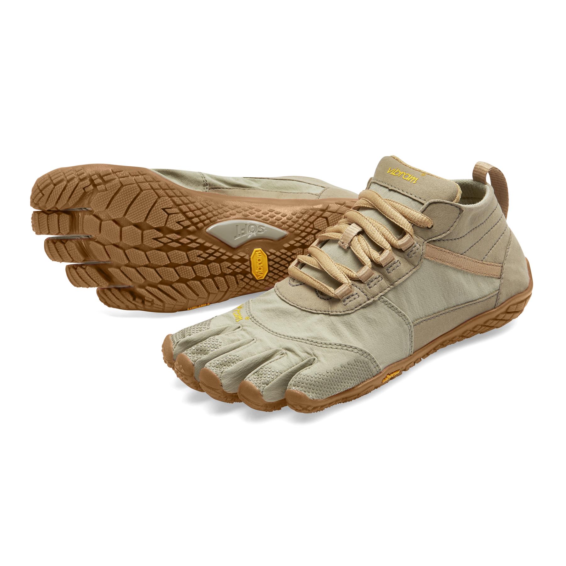 Vibram Damen Womens V-Trek Military//Purple Running Shoe schwarz