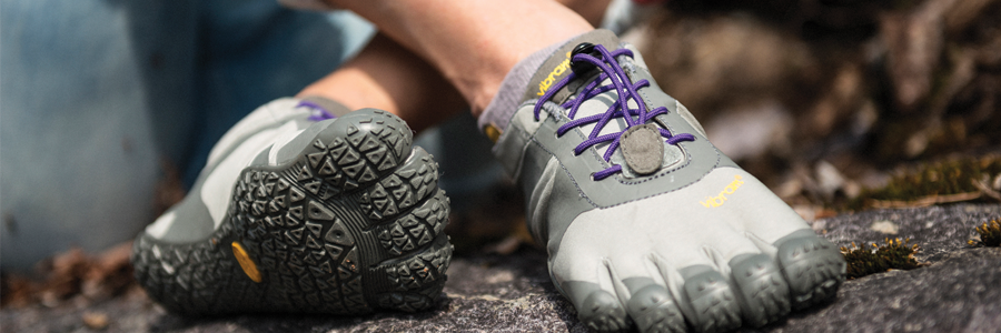 Vibram s Women s FiveFingers shoes offer a versatile minimalist footwear  solution. Created with individual toe pockets for flexibility to replicate  the ... b28e151d7c